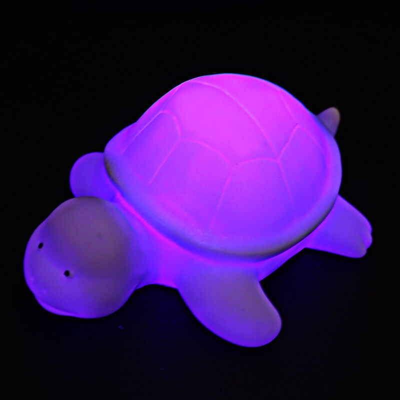 Cute Turtle Led Colors Changing Night Light Lamp Home