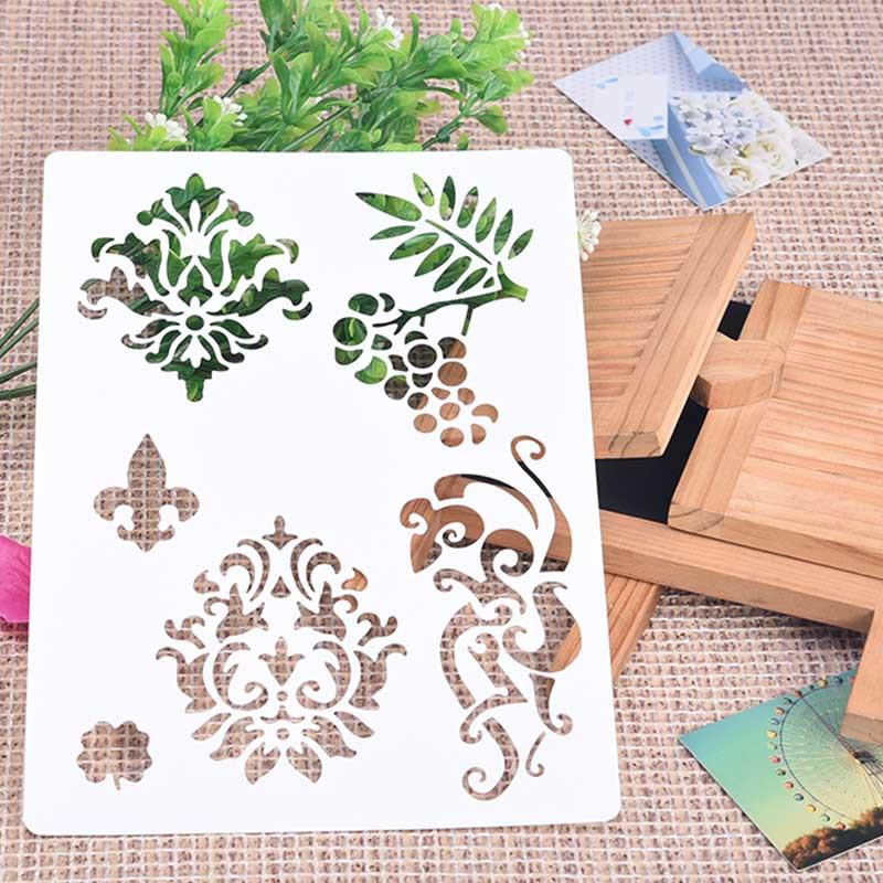 Flowers Cutter Drawing Cutting Dies Stencils Scrapbooking