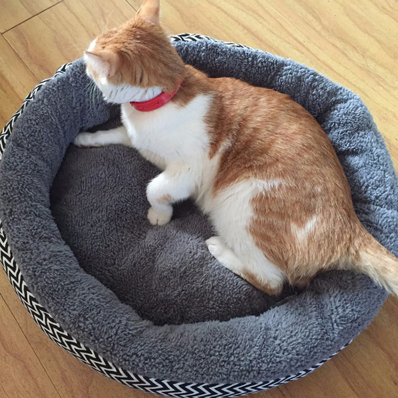 Pet Round Animal Bed Dog Bed Cat Bed Dog Pillow Dog Sofa Bed Dog Basket eBay