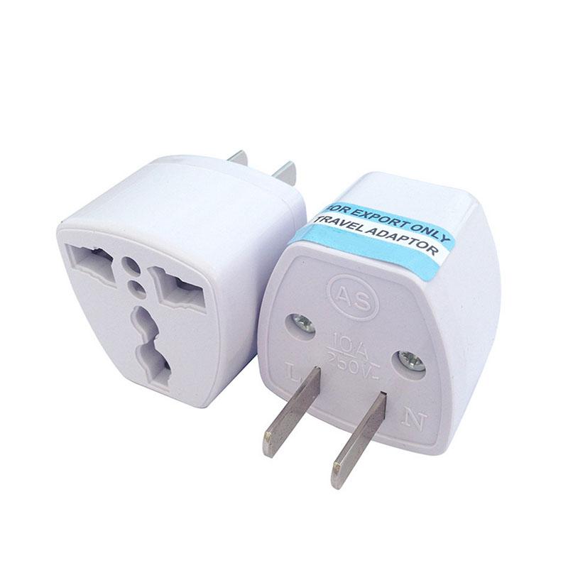 tour eu uk au to us usa ac travel power plug adapter. Black Bedroom Furniture Sets. Home Design Ideas