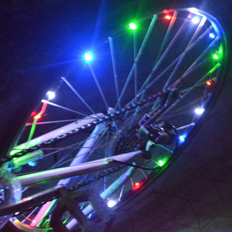 String Of Led Lights Not Working : 20 LEDs Bicycle Bike Cycling Rim Lights LED Wheel Spoke Light ABS String Sport eBay