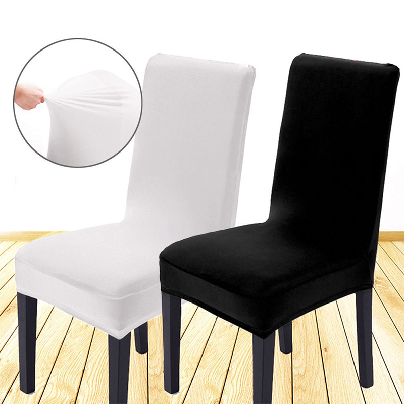 Dining Room Seat Cover: Stretch Spandex Dining Room Wedding Banquet Chair Cover