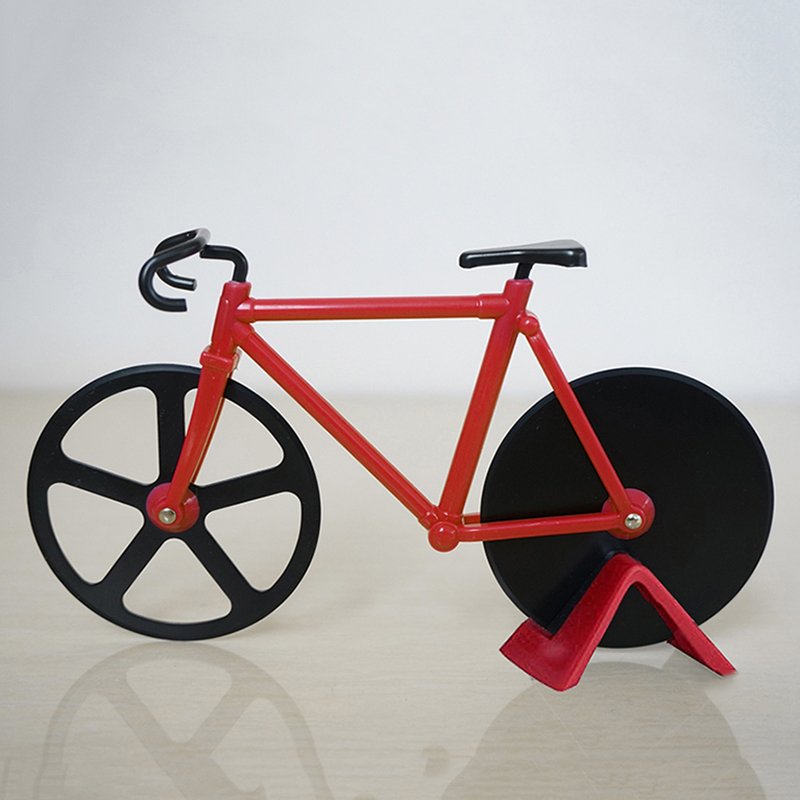 Bicycle Kitchen: Bike Pizza Cutter Novelty Road Bicycle Chopper Slicer