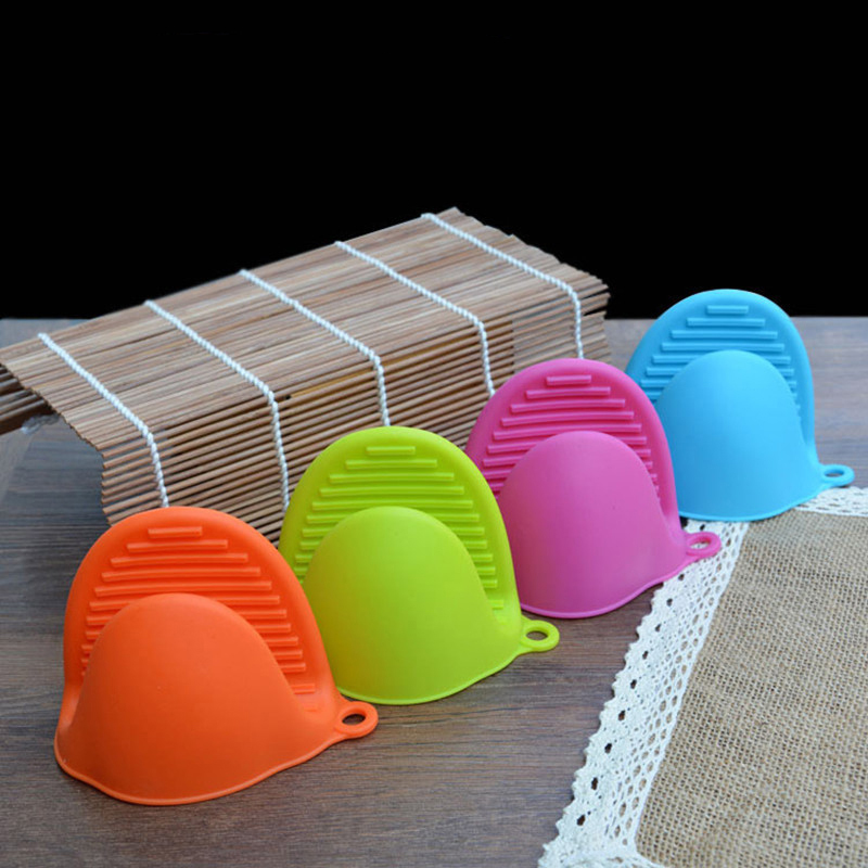 Silicone Pot Holders: Silicone Kitchen Glove Oven Pot Holder Heat Resistant Tool