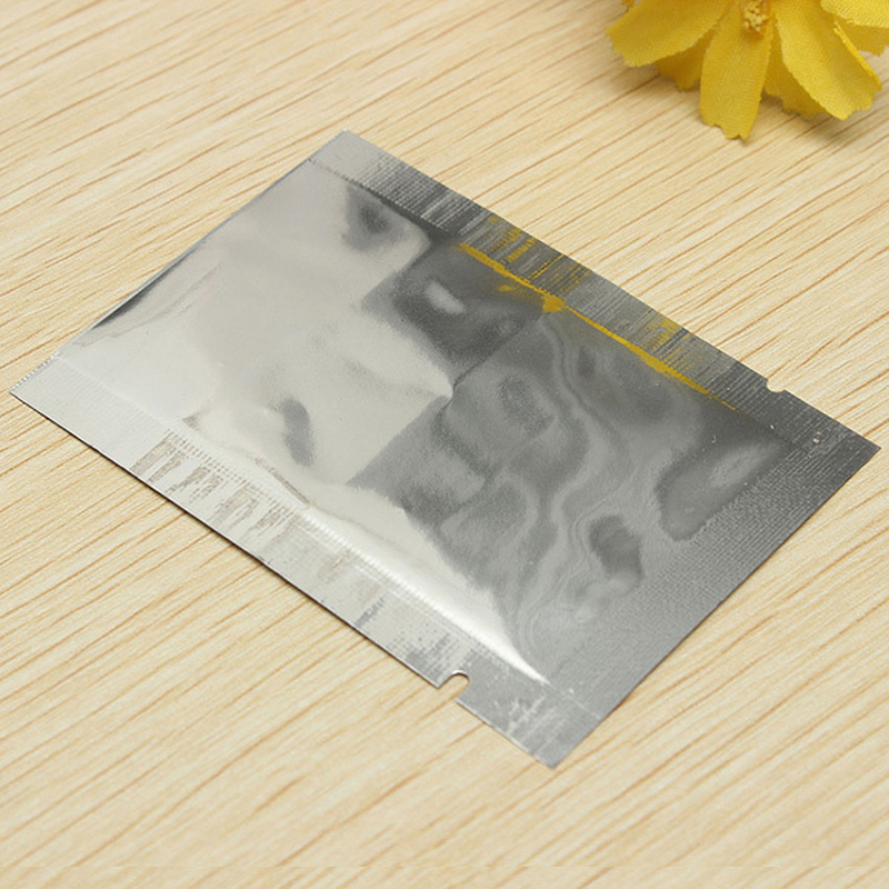 Aluminum Foil Packaging Bags Front Clear Mylar Heat Seal