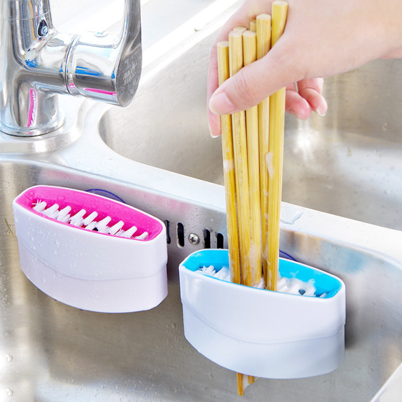 Multifunctional In Wall Kitchen Wash Vegetables Mixing: Novelty Kitchen Cutlery Cleaner Easy Clean Dish Washing No