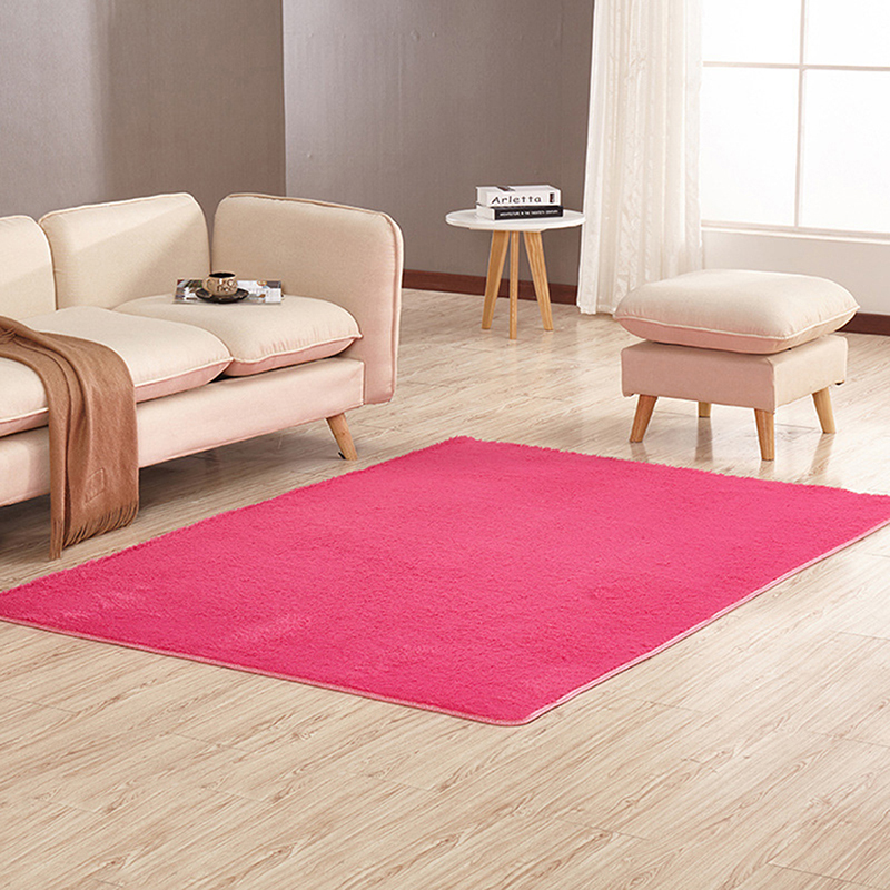 super soft modern shag area rug living room carpet bedroom