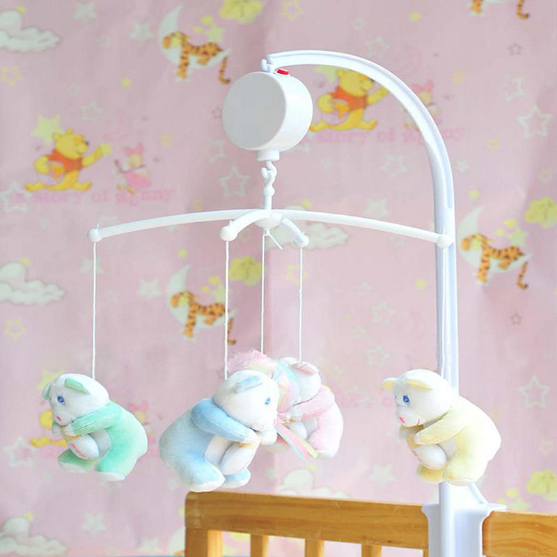Crib Toy Holder : New baby crib mobile bed bell toy holder arm bracket early