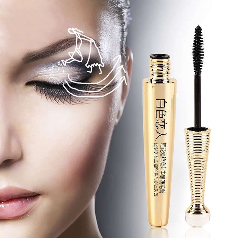 3d fiber mascara cosm tique extension long cils yeux waterproof maquillage noir. Black Bedroom Furniture Sets. Home Design Ideas