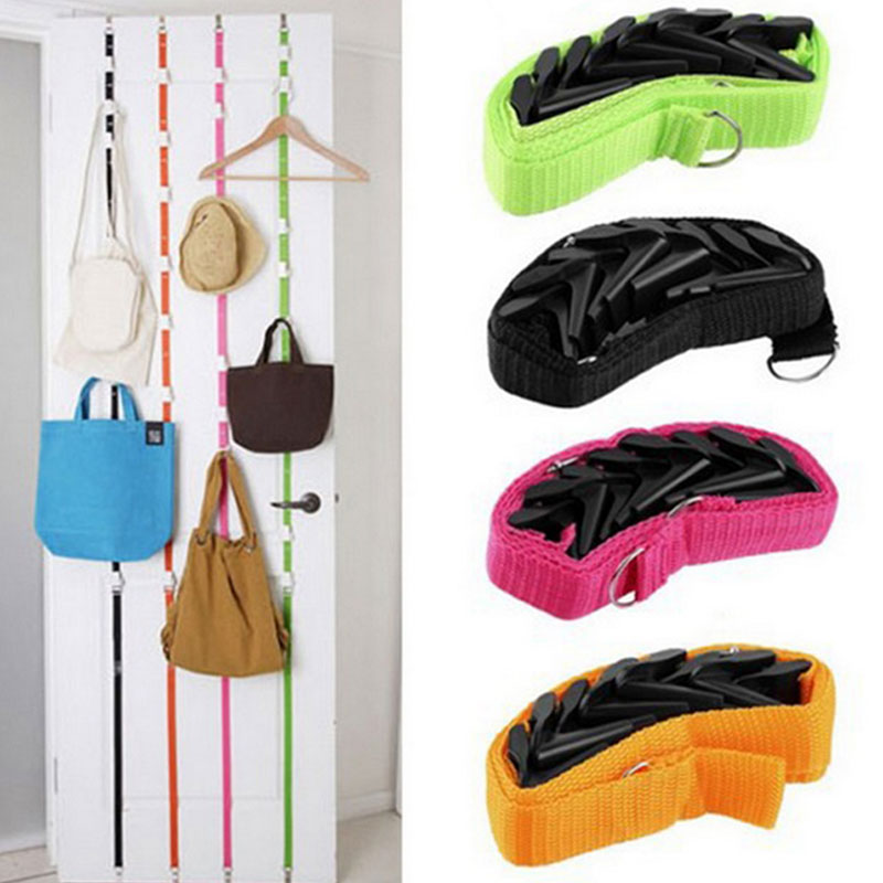 Adjustable Over The Door Hanger Hat Bag Handbag Clothes