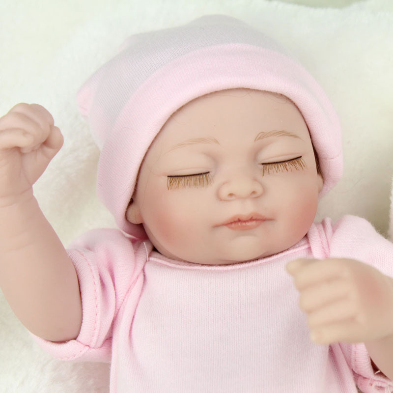 11 Inch Realistic Reborn Baby Doll With Clothes Doll Kids