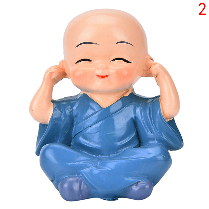 new shaolin kung fu monk buddha doll auto car interior resin ornament decoration ebay. Black Bedroom Furniture Sets. Home Design Ideas