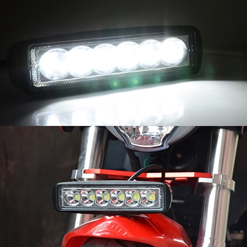 Brightest flood lights for trucks : W flood led bar bright work light boat car truck lamp suv off road tractor