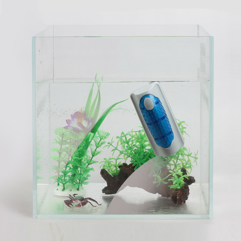 Aquarium fish tank floating magnetic glass cleaner algae for How to remove algae from fish tank glass