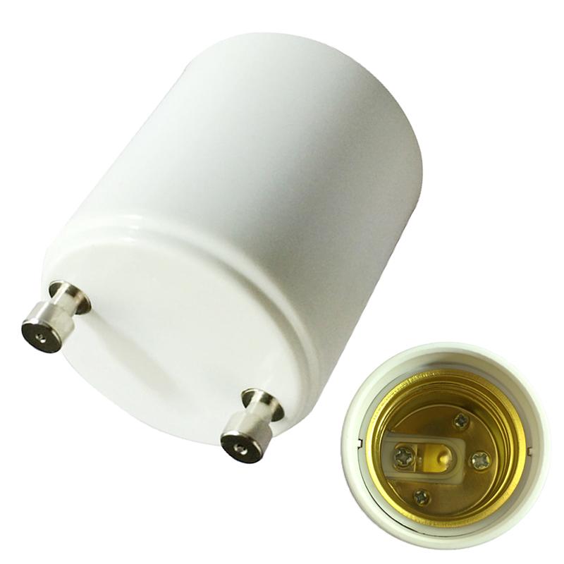 2pcs gu24 to e27 e26 standard light bulb lamp holder adapter led base socket ebay. Black Bedroom Furniture Sets. Home Design Ideas