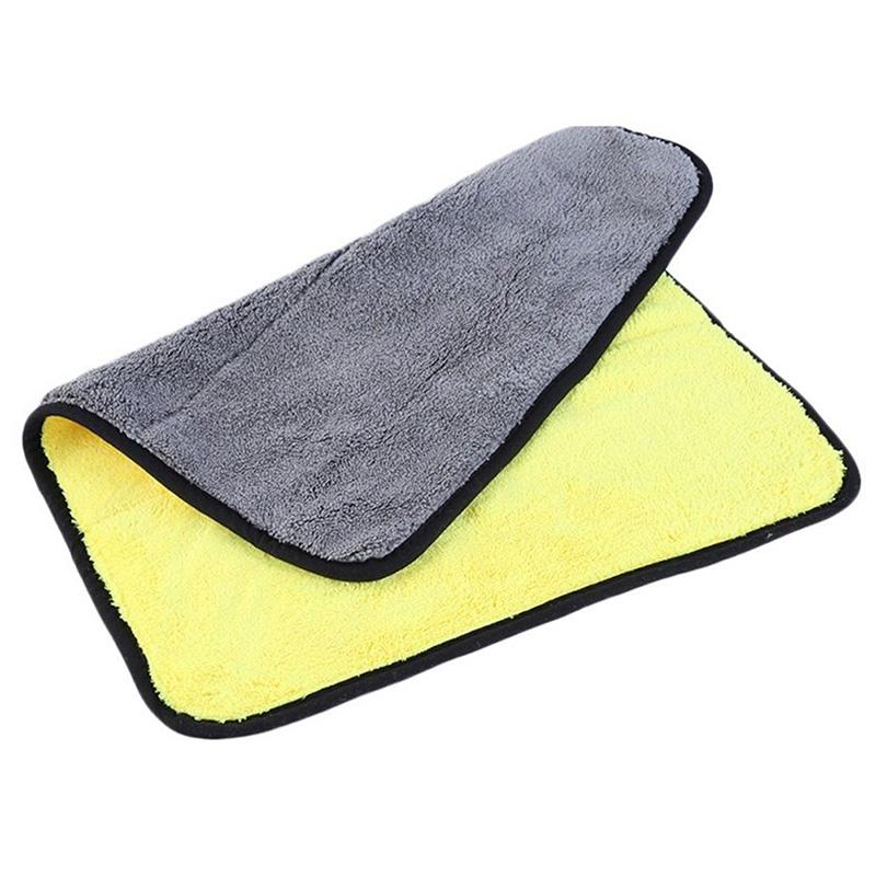 microfaser trockentuch auto w sche reinigung gelb mikrofaser tuch 45 x 38 cm neu ebay. Black Bedroom Furniture Sets. Home Design Ideas