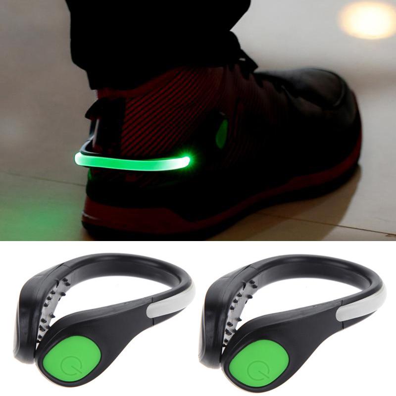 led clip sur chaussure lumi re led lumi re clip pour chaussures de course v lo ebay. Black Bedroom Furniture Sets. Home Design Ideas