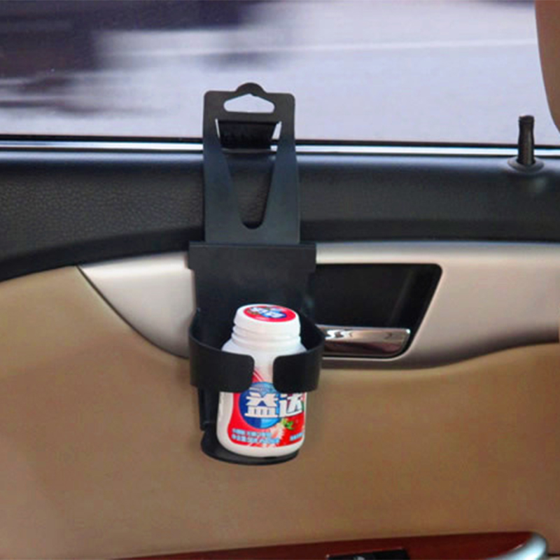 black universal vehicle car truck door mount drink bottle cup holder stand rack ebay. Black Bedroom Furniture Sets. Home Design Ideas