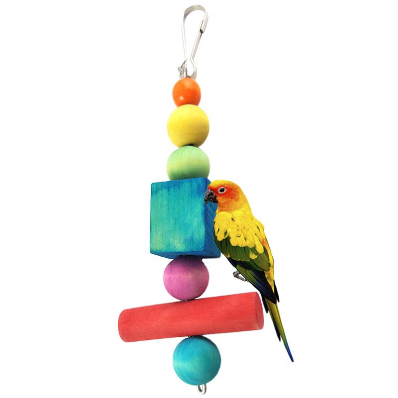 Parakeet Chew Toys : Bird parrot cockatiel bites chew toys hanging parakeet