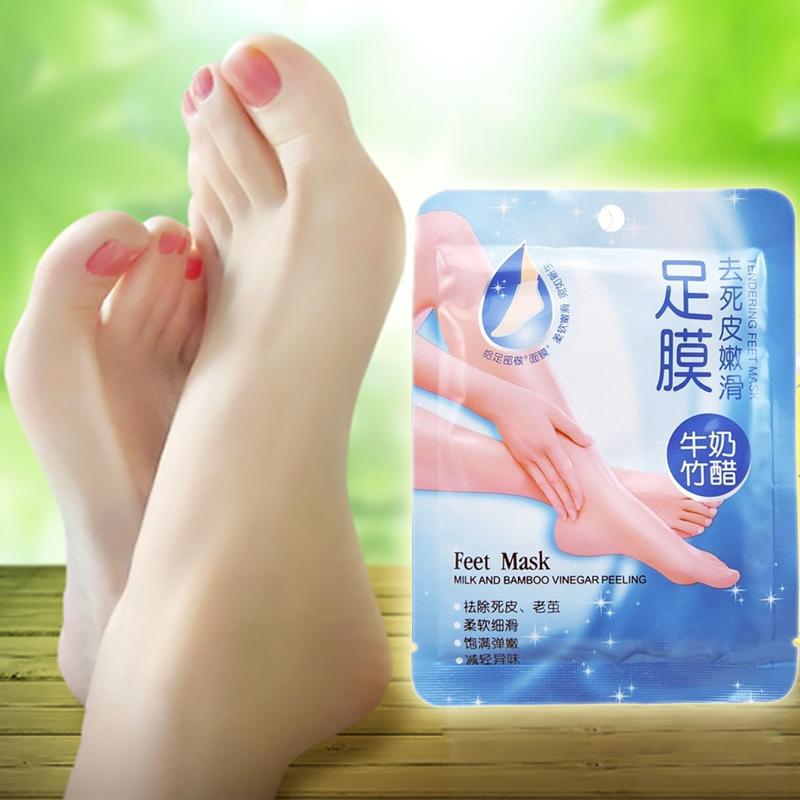 Effective Exfoliating Peel Foot Mask Remove Scrub Callus Hard Dead