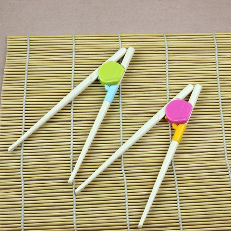 1Paar Essstäbchenhalter Kinder Essstäbchen zum Lernen Lernstäbchen Zubehör