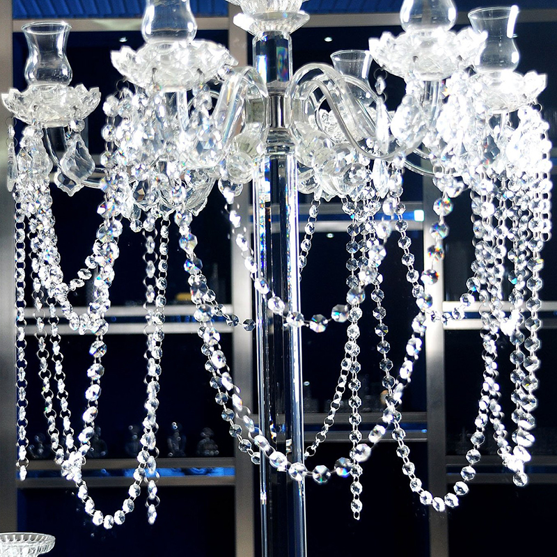 Oldman 4 Light Crystal Chandelier