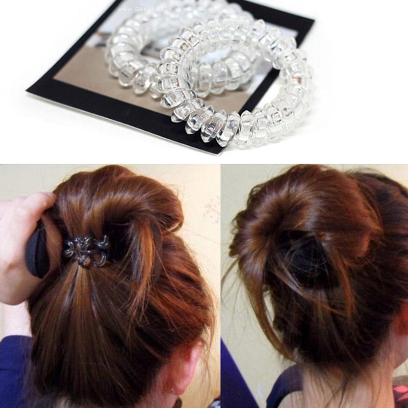 170 Haargummi Haarband Schwarz Bunt Elastisch Pferdeschwanz Zopfgummi Y3N8