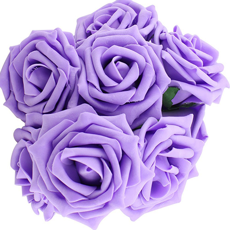 5 Wedding Bouquet Etiquette Questions You Need To Read: 10Pcs Real Latex Touch Gem Rose Flowers Bouquet For
