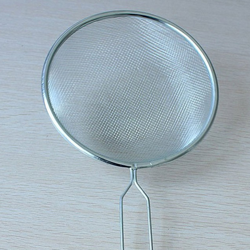 2 x STAINLESS STEEL TEA STRAINER WIRE MESH CLASSIC TRADITIONAL ...
