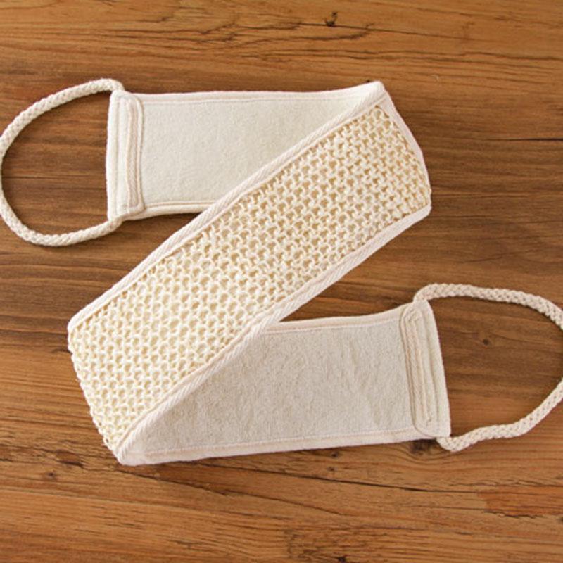 Exfoliating Loofah Loofa Back Strap Bath Shower Body