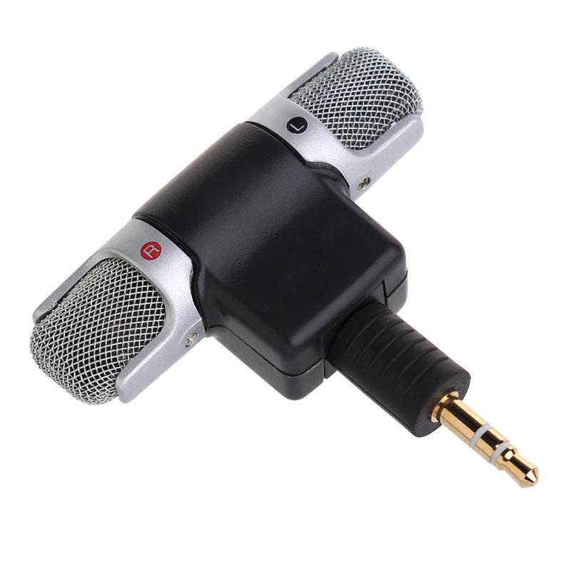 1Stk e Mini-Stereo-Mikrofon Mic 3,5 mm Klinkenbuchse PC Laptop Notebook hot neuL