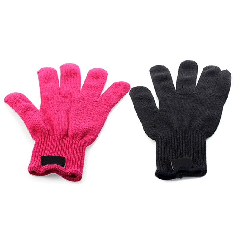 heat resistant gloves for hair styling uk heat resistant proof protection glove hair styling tool 4033