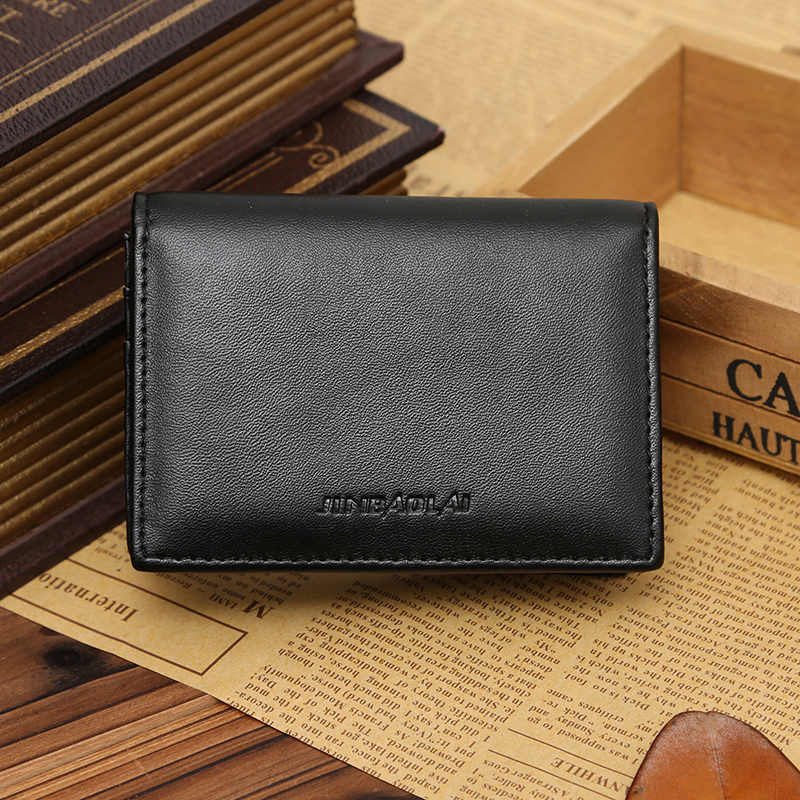 d1dc0c6d1e2ce Details about Men's Leather Wallet Bifold ID Credit Card Holder Mini Purse  Money Clip Purse