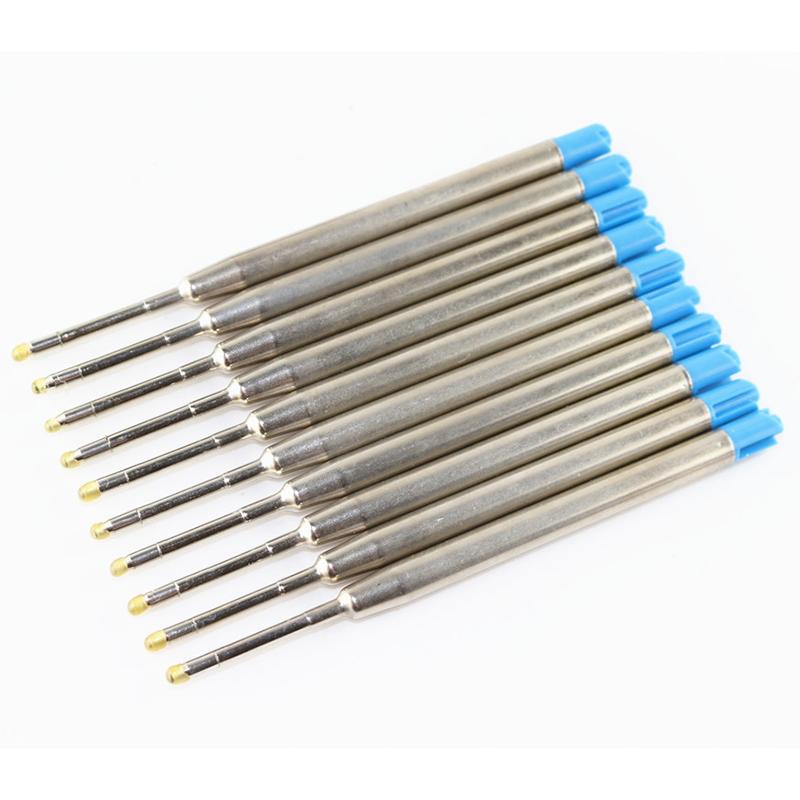 10er Blau Tinten Parker Standard Kompatibel Kugelschreiber Refill Medium 0.7MM