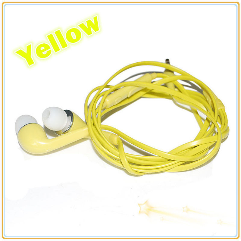 Green earbuds with volume control - comfortable earbuds with mic