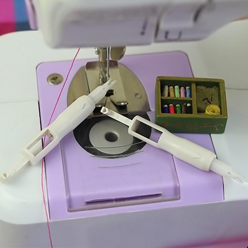 Nadeleinfädler Stitch Insertion Tool Für Nähmaschine Nadel Inserter OX
