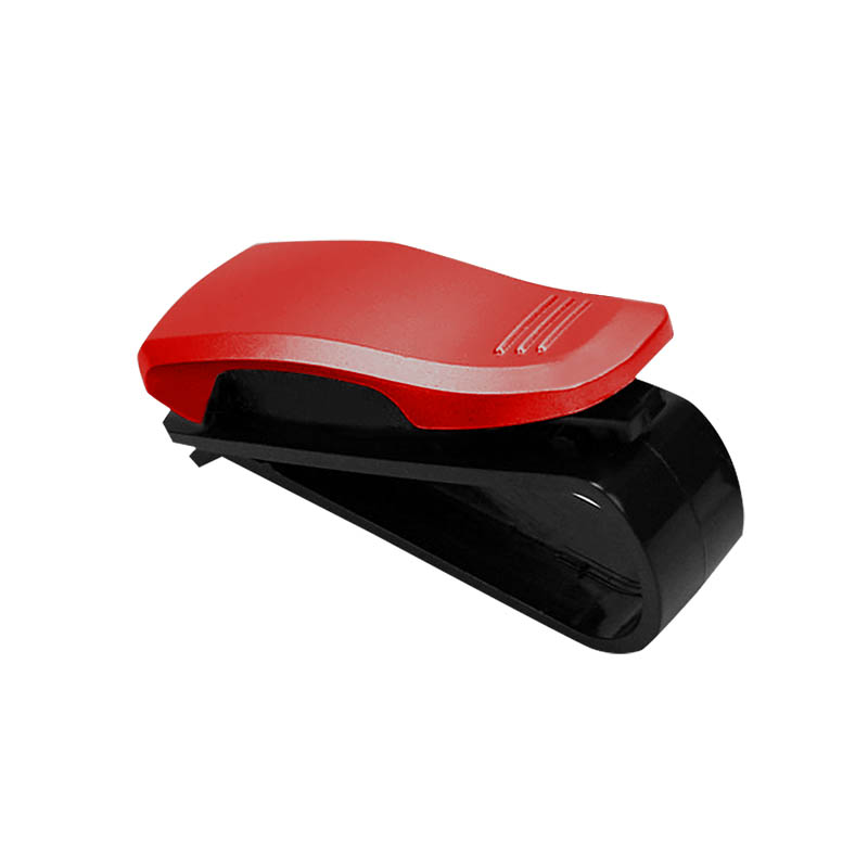 kfz brillenhalterung rot f r auto pkw lkw. Black Bedroom Furniture Sets. Home Design Ideas