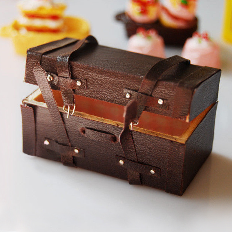 Copper Cooking Pan Pot 1//12 Dollhouse Miniature Kitchen Cookware Accessor./&Hot