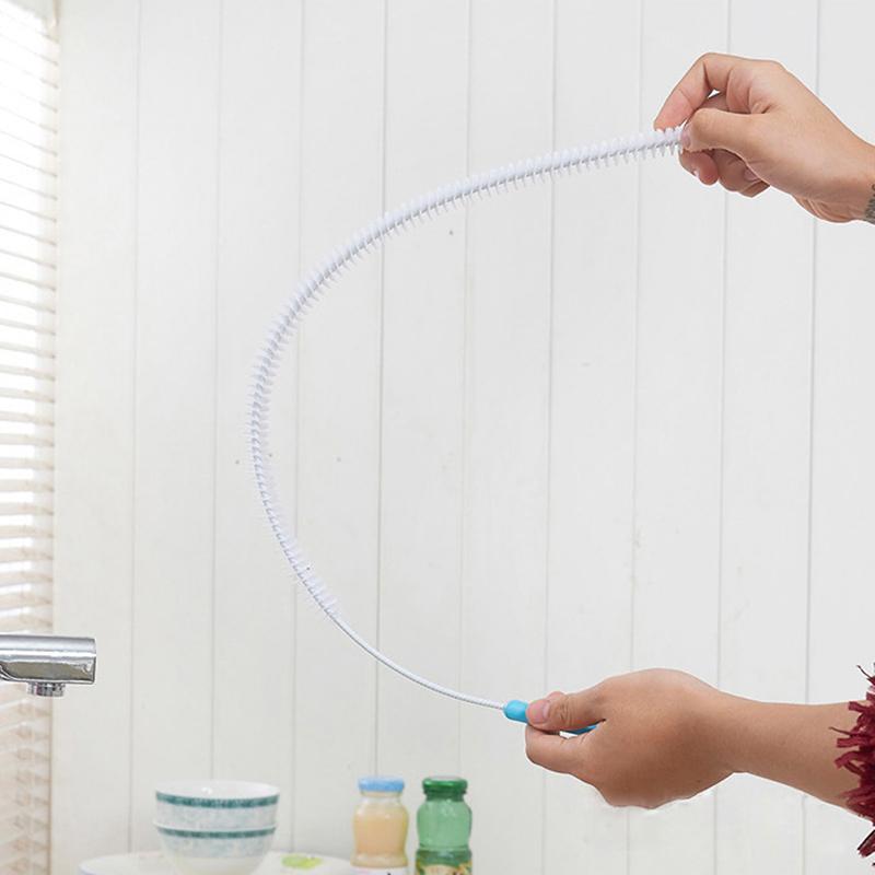 rohrreinigungs rohr abflu spirale abflussrohr k che drain reinigungsb rste ebay. Black Bedroom Furniture Sets. Home Design Ideas