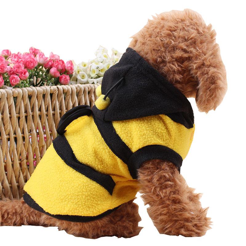 Теплое пальто Пчелы для собаки или кошки