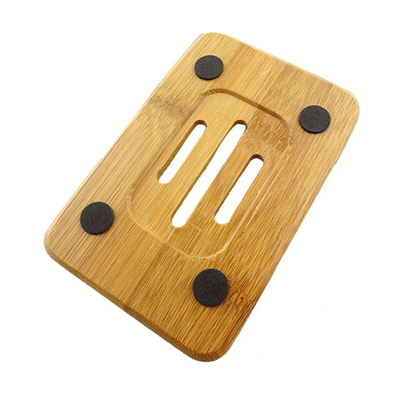 Bambus Seifenablage Seifenschale Seifenhalter Bär Küche Dusche Halterung P0 W3O5