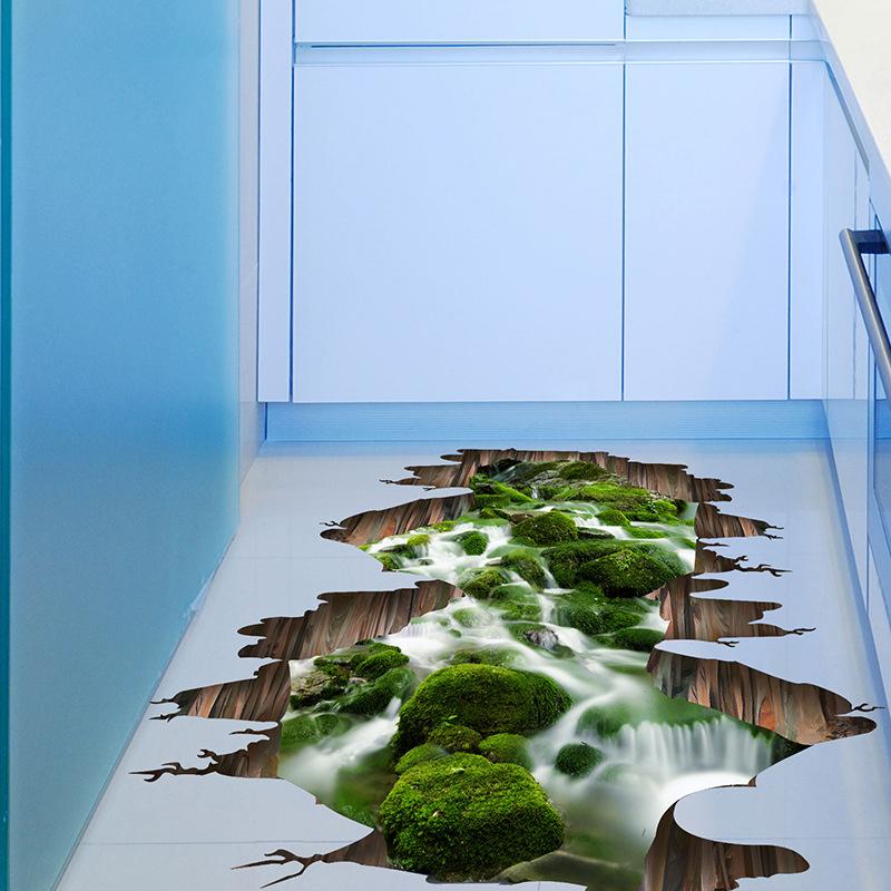 3D Strom Wandtattoo DIY Zimmer Zuhause Boden Wand Deko Sticker ...