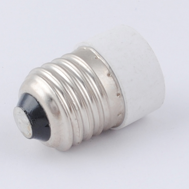 2x E27 E14 LED Base Sockel Licht Birne Lamp Halter Stecker Adapter-Konverte S3J0