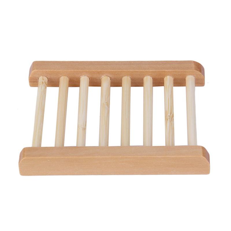 Seifenschale Holz Seifenablage Hemuholz Hölzern Seife Box Gestell C5K8 Spen G6M3