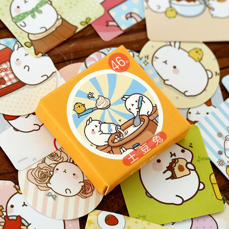Tiere Karikatur Lesezeichen-Markierung Memo Sticker Haftnotizen Sticky Note Z4V3