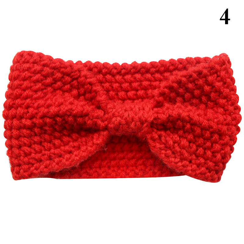 Strick Stirnband Häkeln Winter Warm Lady Hair Ribbon Stirnband Head ...