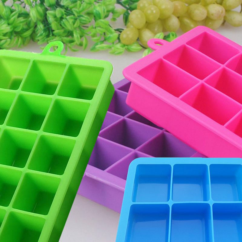 6X Silikon Push Up Stick Yogurt Lolly Eiswürfelformen Eiswürfelform Y3O6 Z3 E2M8