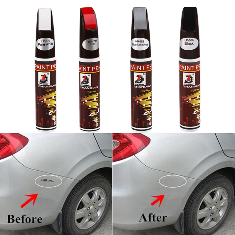 Details about Auto Car Coat Paint Pen Up Scratch Clear Repair Remover Tool  Cleaning Kit