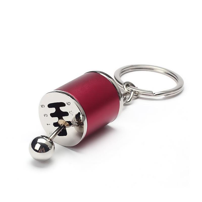 Fob Keychain Auto 6-Gang Gangschaltung Racing Tuning M ss27 Schlüsselanhäng D9P5