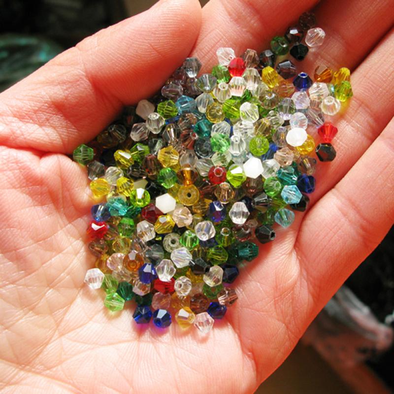 100 X 6mm Bunt Glasslperlen Kristall Glasschliffperlen Perlen D G1O0 H7E3 J6V6